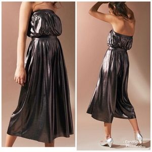 NWT🏷Urban Outfitters Metallic Jumpsuit XS
